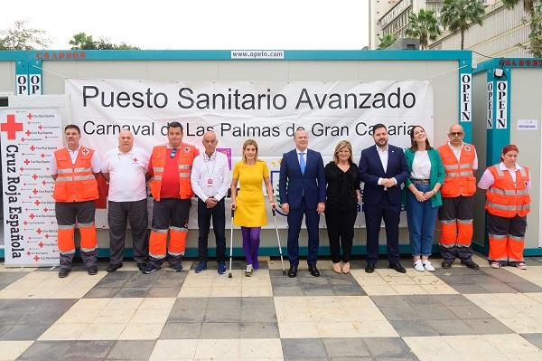 Más de 300 efectivos de Cruz Roja prestarán apoyo sanitario en el Carnaval