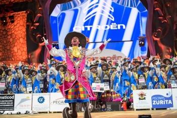 Los Nietos de SaryMánchez, primer premio del concurso de murgas del Carnaval