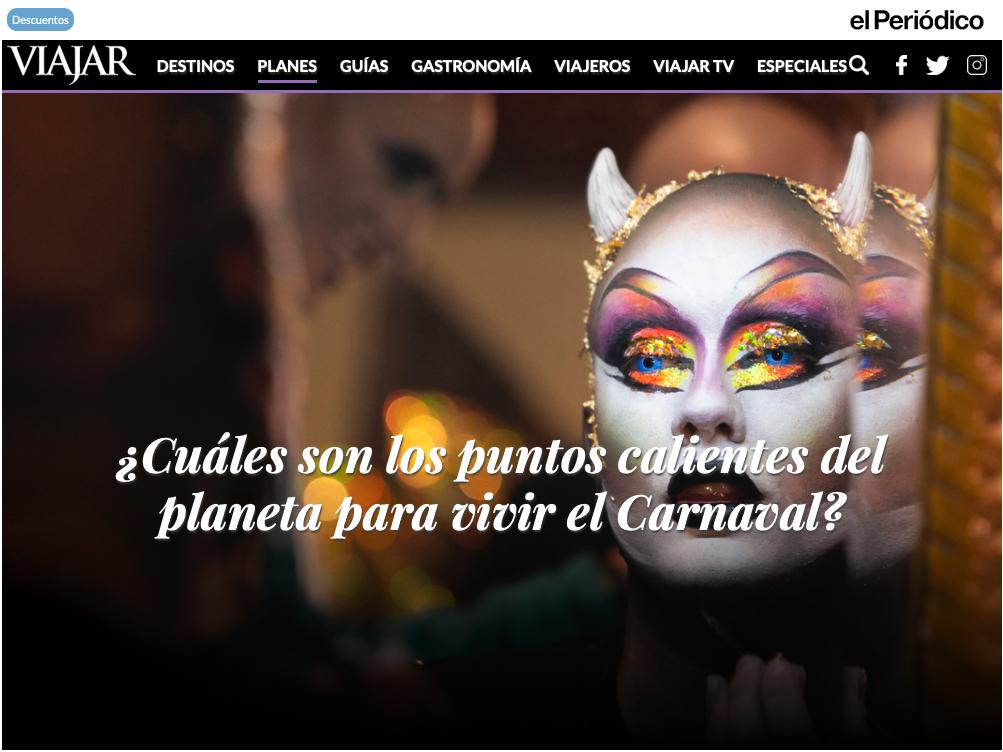 Las Palmas de Gran Canaria, punto caliente del planeta para vivir el Carnaval