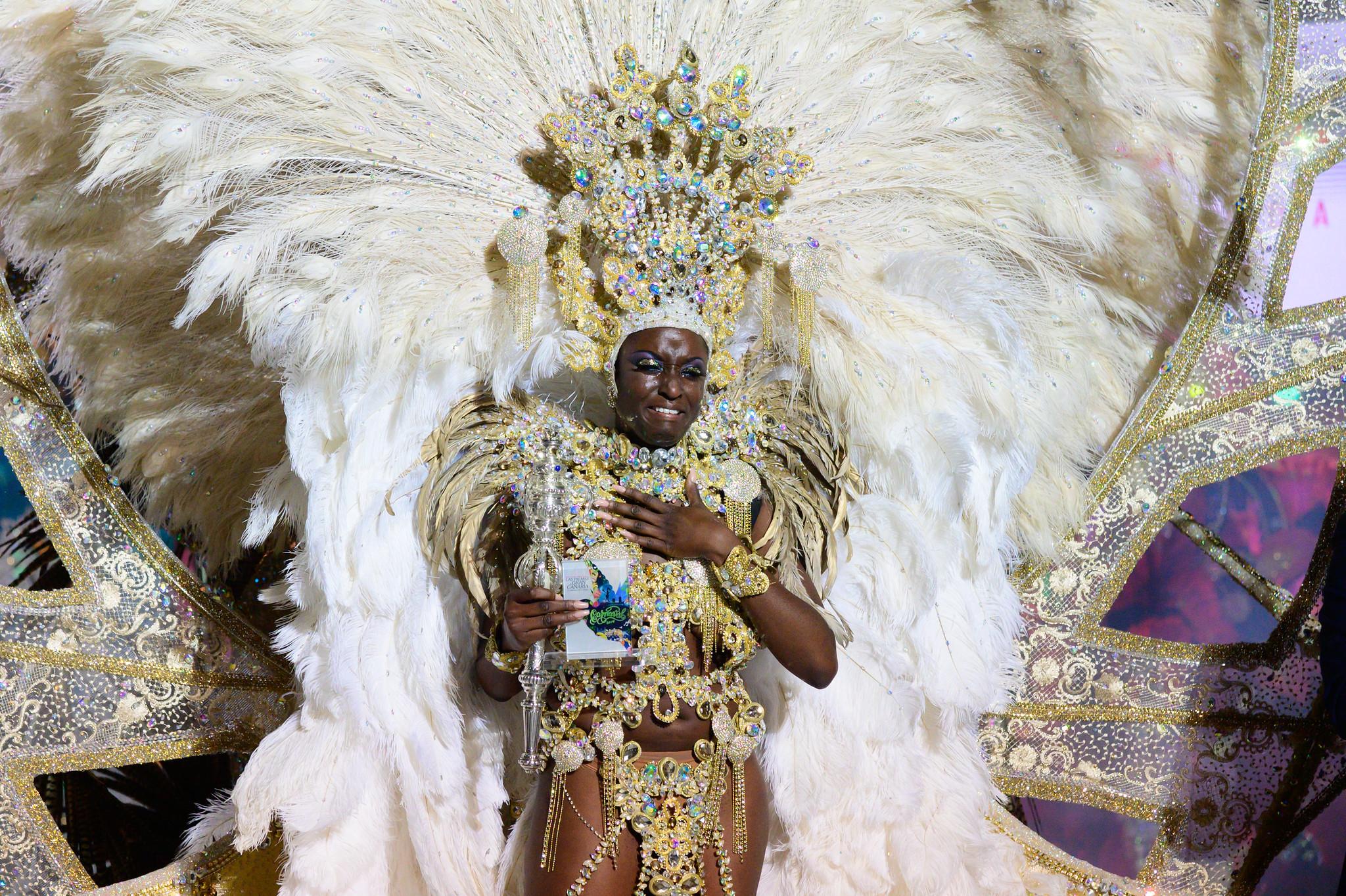 Die Königin des Karnevalsmärchen, ein Symbol des Fests