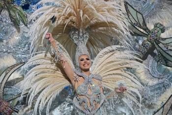 Minerva Hernández, una Reina de cuento para el Carnaval de Las Palmas de Gran Canaria 2020