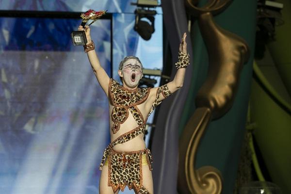 Más de 600 mascaritas de 25 centros ocupacionales de Gran Canaria celebran el «carnaval de los sueños»