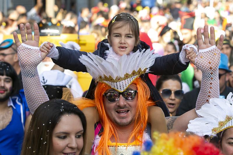 Desfile infantil el domingo
