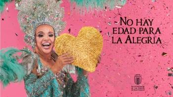 """""""El Carnaval sigue vivo en el corazón, porque es febrero: y el año que viene, si todo va bien, tendremos doble dosis"""""""