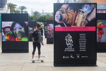 Las emociones, en forma de fotos, serán las únicas que salgan a la calle en el Carnaval 2021