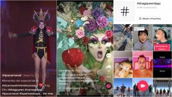 Die Drag Queens des Karnevals tauchen bei TikTok auf
