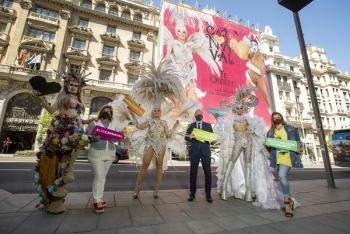El Carnaval de Las Palmas de Gran Canaria late en el corazón de Madrid