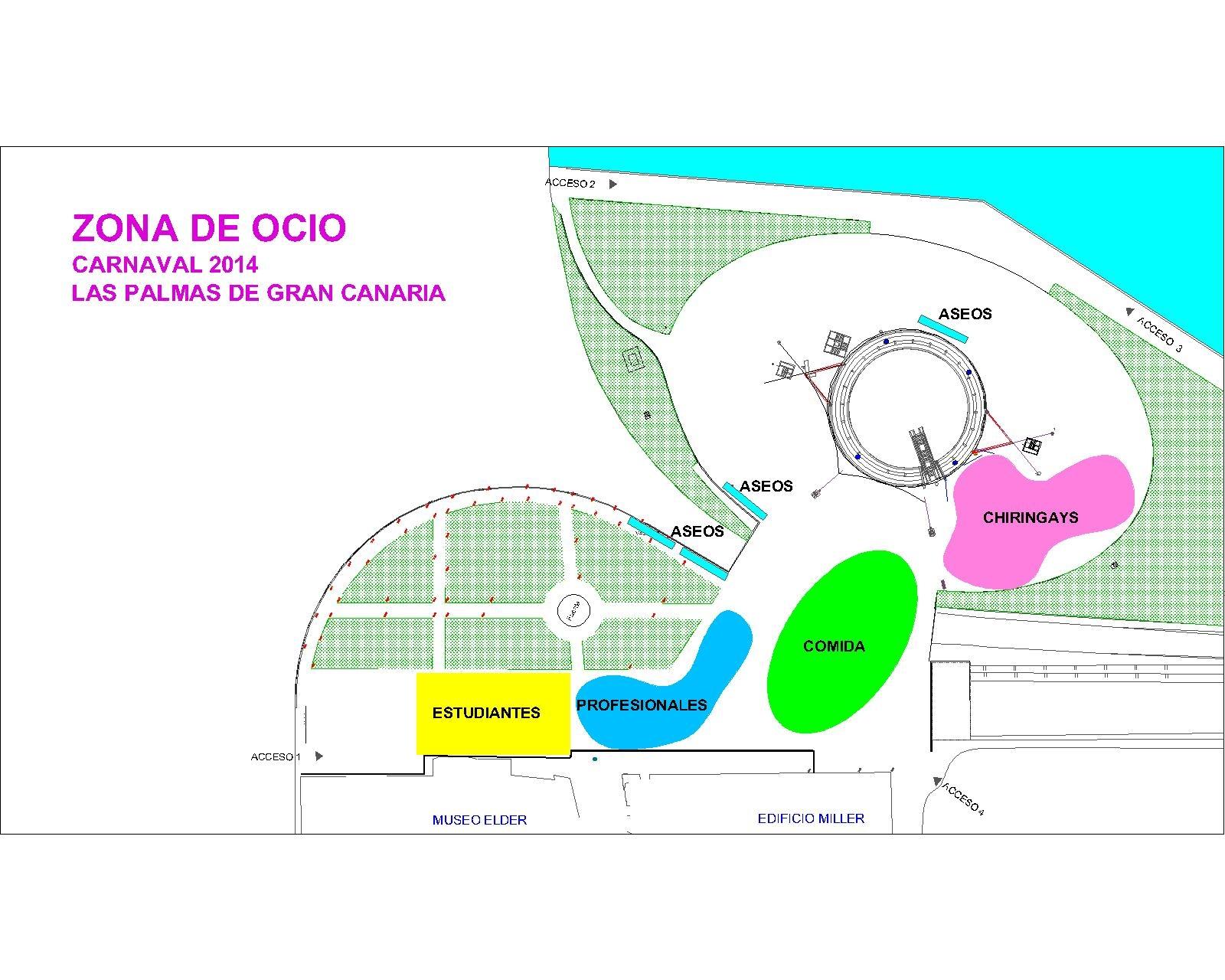 El Ayuntamiento cierra el viernes el plazo de inscripción para participar en la zona de ocio del Carnaval del Mundo de la Fantasía