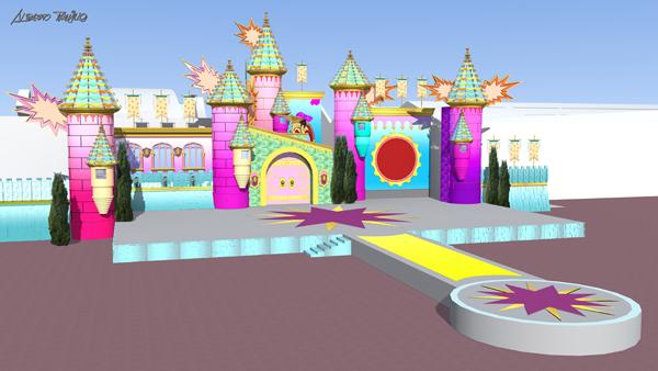 El escenario del Carnaval 2014, un gran castillo donde celebrar El Mundo de la Fantasía