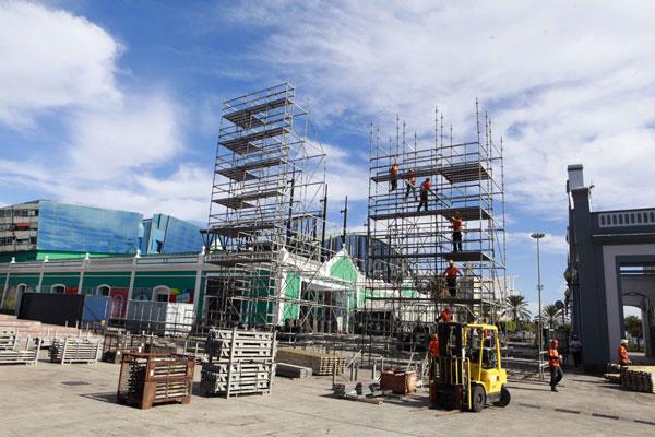 Solicitud pública de ofertas para el suministro, instalación y montaje de estructuras del escenario del Carnaval 2014