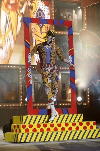 La fantasía ¡¡Pop!! de José Carlos Campos se alza con el primer premio de maquillaje corporal