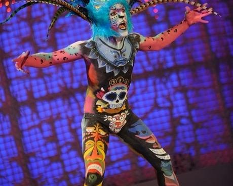 Carnaval sobre la piel