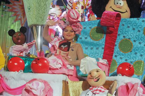 El Carnaval del Cómic se rinde ante su nueva Reina Infantil, Aymara del Pino Rueda