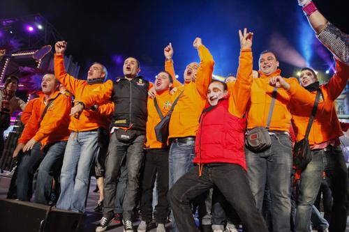 Los Serenquenquenes logran el primer premio del concurso de murgas del Carnaval del Cómic