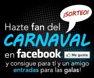 Participa en el último sorteo en el Facebook de Carnaval de Las Palmas de Gran Canaria
