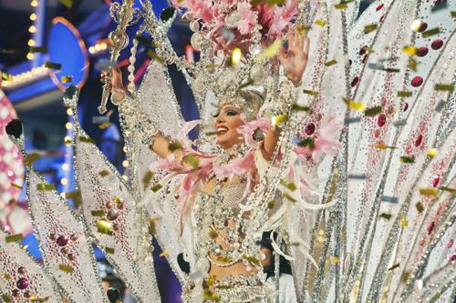 Laura Medina, Reina del Carnaval del Cómic 2012