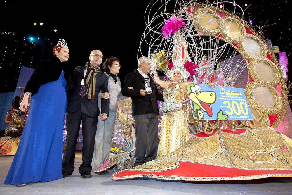 Lucía González Gopar, Gran Dama del Carnaval de Mar y Culturas