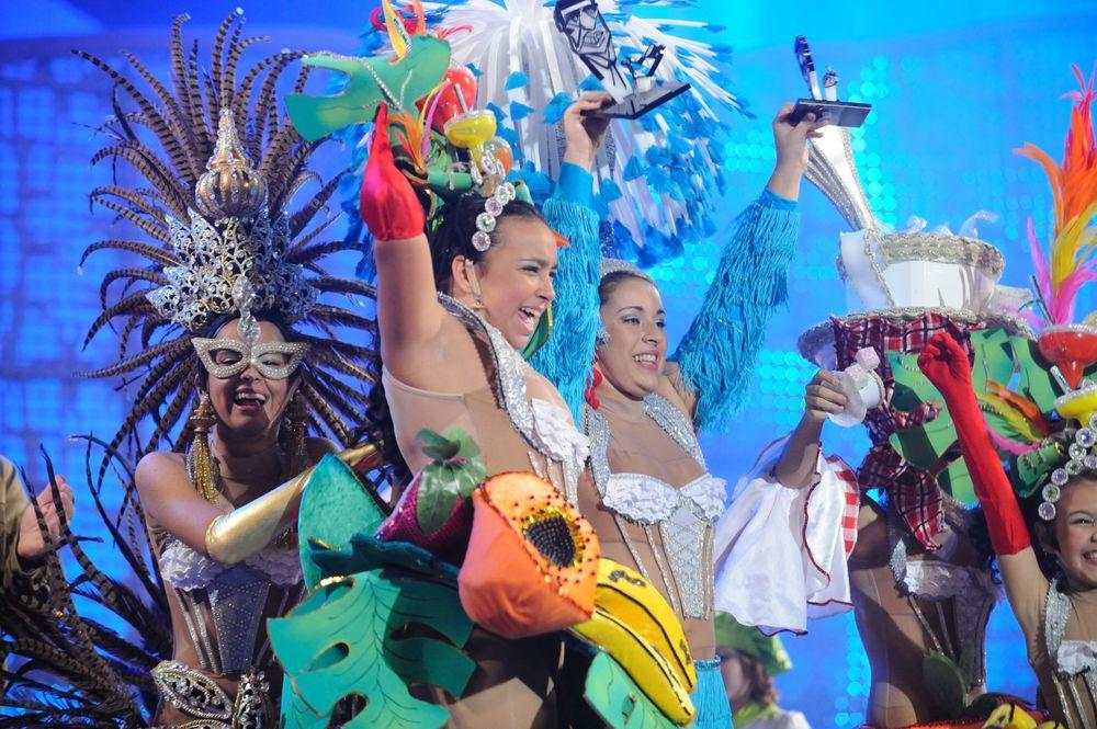La comparsa infantil Kisamba se hace con el primer premio de interpretación del Carnaval 2011