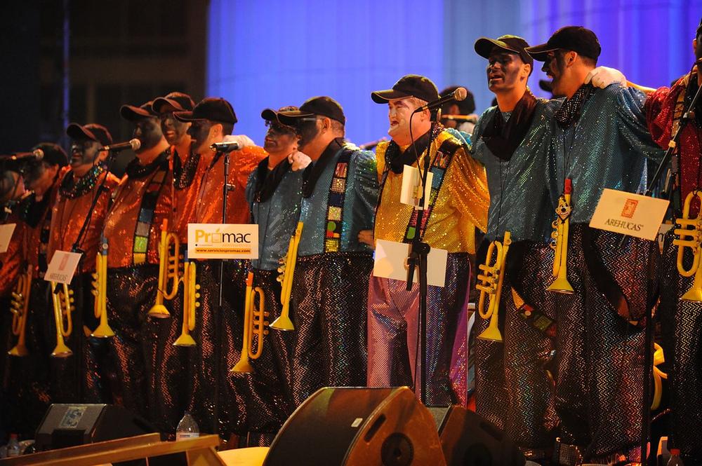 Los Chancletas, primer premio del Concurso de Murgas 2011