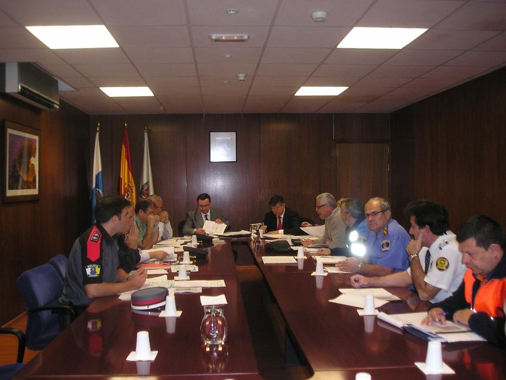 La Junta de Seguridad Local se reúne para analizar el dispositivo del Carnaval 2011
