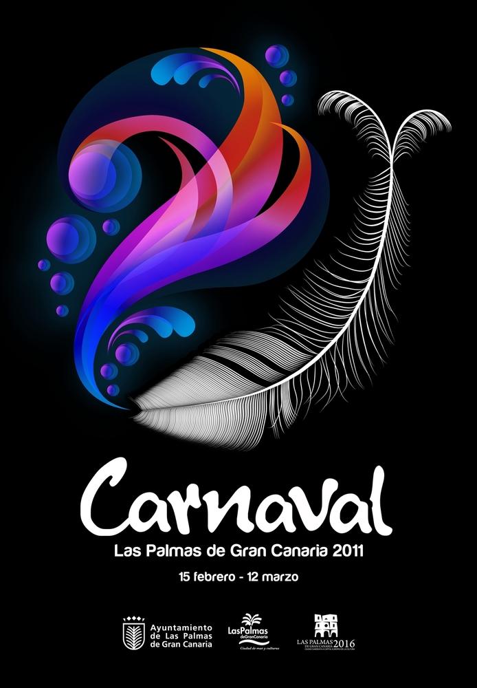 Plumardina, cartel del Carnaval 2011