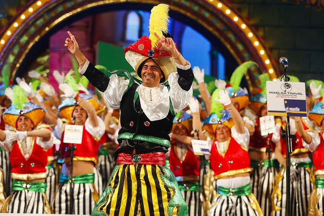 Los Serenquenquenes, primer premio de interpretación del Carnaval de Las Palmas de Gran Canaria 2014
