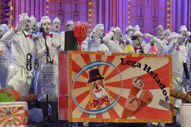 Los Legañosos se lleva a Carrizal el 1er premio de interpretación del concurso de murgas del Carnaval 2016, el 2º de vestuario y el Tomás Pérez a la mejor letra