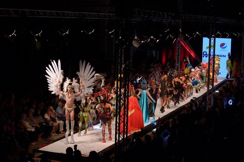 Cinco mil personas podrán disfrutar de los dos días de pasarela en la séptima edición de la 'Carnaval Fashion World'