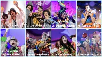 El Carnaval de Las Palmas de Gran Canaria ya conoce los nombres de los grupos clasificados para la final del concurso de murgas