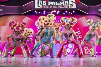 Miguel Ángel Medina en la categoría individual y las Chiara Girls en la de grupo, ganadores del Carnaval de la Eterna Primavera