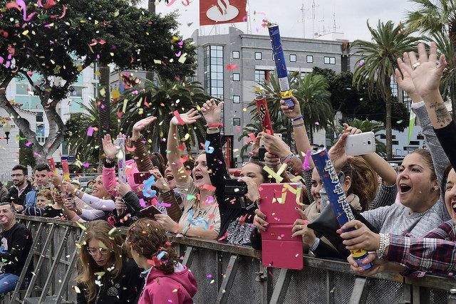 Santa Catalina, principio y final de fiesta para el Martes de Carnaval