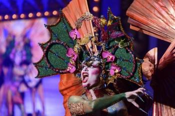 Maquillaje Corporal cierra los concursos sobre el escenario de Santa Catalina con la actuación de 21 participantes