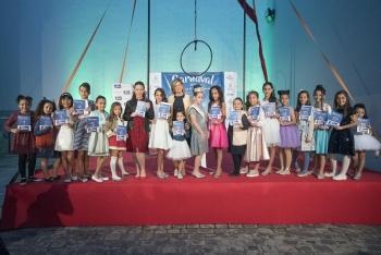 Dieciocho niñas aspiran a convertirse en Reina infantil