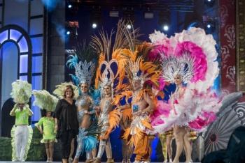 La comparsa Kisamba, 1.er premio de interpretación y vestuario por segundo año consecutivo en el Carnaval de Las Palmas de Gran Canaria