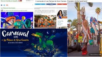 El Carnaval de Las Palmas de Gran Canaria, entre los más atractivos del mundo para los portales web especializados en viajes
