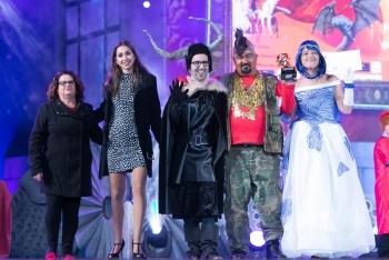 Más de cien mascaritas concursan en la 10ª gala de la integración en el Carnaval de la magia y las criaturas fantásticas