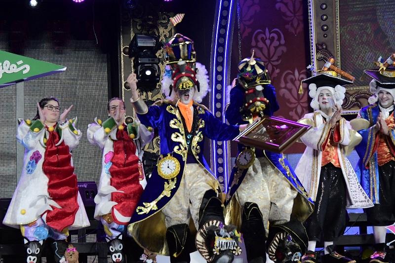 Los Serenquenquenes volvieron a escalar a lo más alto del podio del Carnaval de Las Palmas de Gran Canaria