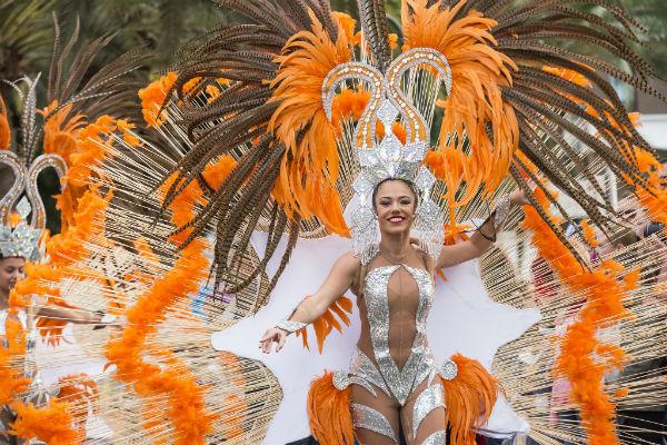 'Una noche en Río, alegoría del Carnaval de Las Palmas de Gran Canaria 2019