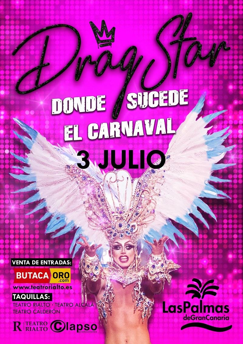 El Carnaval de Las Palmas de Gran Canaria desfilará desde Atocha hasta Colón en el Orgullo LGBT de Madrid 2018 (MADO 2018)