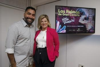 """Las Palmas de Gran Canaria participará en la semana del Orgullo LGBT, MADO 2018, bajo el lema """"Donde sucede el Carnaval"""""""
