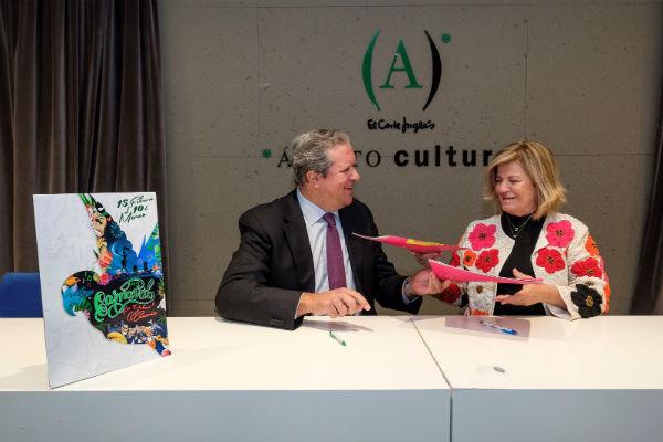 Promoción de Las Palmas de Gran Canaria y El Corte Inglés firman su alianza de apoyo a los grandes eventos culturales y celebraciones de la capital