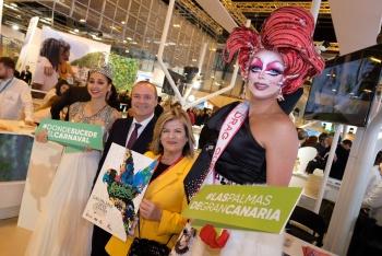 Las Palmas de Gran Canaria presenta en FITUR 2019 el Carnaval de «Una noche en Río»
