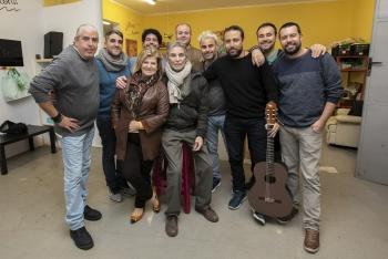 La Chirimurga del timple pone música al pregón de Manolo Vieira