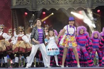 Carnaval abre a los niños el trono infantil de la fiesta