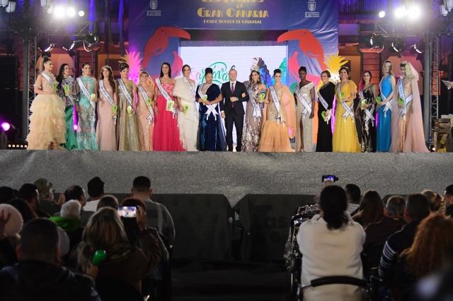 Orden de participación de candidatas en la Gala de la Reina