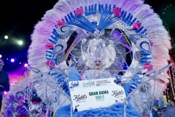 Luisa Lozano, Gran Dama del Carnaval de «Una noche en Río»