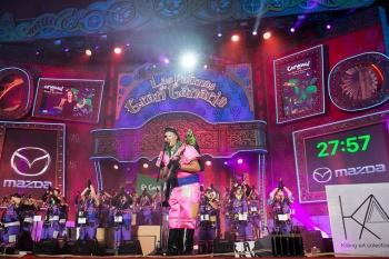 Los Lengüetudos abren el concurso de murgas de «Una noche en Río»