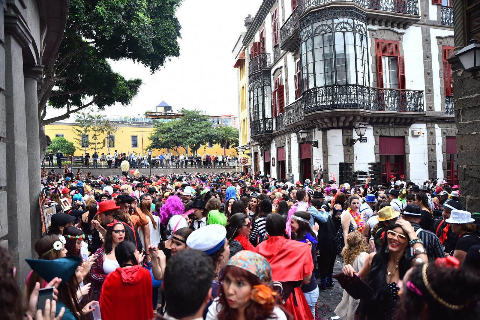 Celebrate Carnival in the daytime too in Las Palmas de Gran Canaria