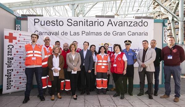 El dispositivo sanitario del Carnaval 2019 está formado por 300 efectivos de Cruz Roja