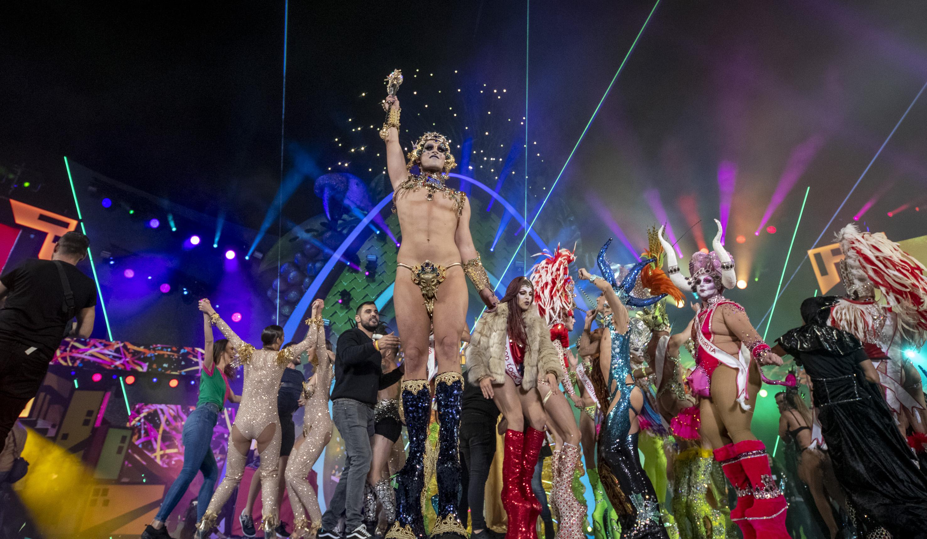 Chuchi, Drag Queen del Carnaval de Las Palmas de Gran Canaria 2019